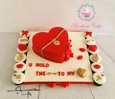 Red heart by Bonboni Cake