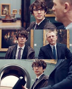 Quartermaster from Skyfall - Oh you can give me any gadget you wanted Q ;)