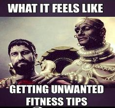 Gym humor - lol . that is a good one.