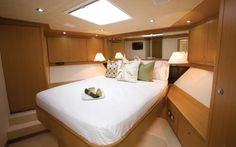 Bertram 80 - The flagship model of the fleet and the largest #Bertram ever built. http://www.marinesolutions.in/bertram-80-fishing-yacht-sale-india/ #Yacht #Sale #India #Interiors #Design #Bedroom