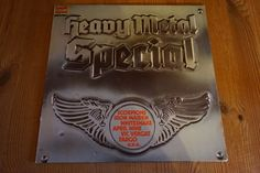 "Heavy Metal Special Sampler 12"" LP 12"" Record Iron Maiden Scorpions Whitesnake"