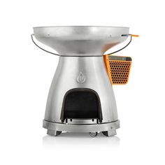 Discover the award-winning Kickstarter phenomenon, BioLite BaseCamp. Cook meals and generate USB electricity with this large format wood-burning stove & grill.
