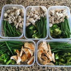 Low-carb options are the plan for @incendofitness with her prep she has lean protein and dark green veggies for her meals! - There are so many different types of diets out there and it can be confusing which is the right one for you! Download @mealplanmagic and to find out what your body needs! - ALL-IN-ONE TOOL & GUIDES - Build Custom Plans & Set Nutrition Goals BMR BMI & Max Rate Calculator Get Your Macros by Body Type & Goal Grocery Lists Automated to Weekly Needs Accurate Cooking and…