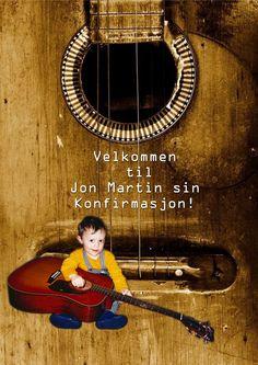 Forsiden på sangheftet til Jon Martin