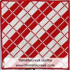 Paint the Town Red quilt pattern | ThimbleCreek Quilt Shop