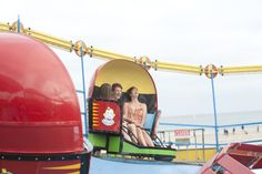 Classic and modern rides at the Santa Cruz Beach Boardwalk!