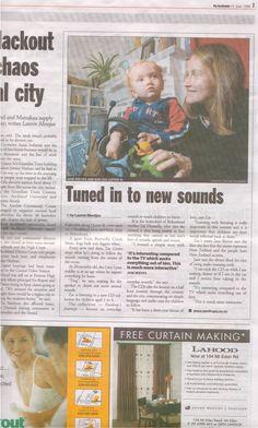 Eardrops article in The Aucklander.