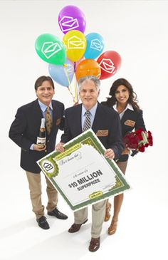 PCH's rose bouquet tradition got started during one Prize Patrol award trip when the florist was out of everything except roses. Enter To Win, I Win, Ed Mcmahon, Win For Life, Online Sweepstakes, Enter Sweepstakes, Congratulations To You, Publisher Clearing House, Winning Numbers