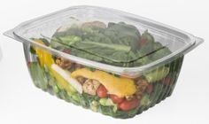 Eco-Products EP-RC64 64 oz Polylactide Deli Container w/Lid by Eco-Products. $92.49. Developing a green business, or lifestyle for that matter, does not need to be as difficult as it sounds. By simply swapping out your traditional food containers for this 64 oz Polylactide Deli Container w/Lid (EP-RC64), you have already made a tremendous improvement in being more eco-friendly. Constructed out of a renewable plant-based plastic, these containers are fully compostable...