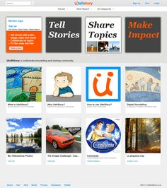 UtellStory is a multimedia Storytelling and sharing community that let people from different age and background to easily tell stories and share topics with photo, video, voice, music and words.