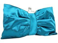 Jessica McClintock #clutch #handbag #purse  bow $45