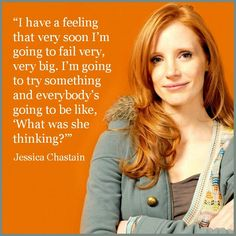 Cool Movie Actor Quote - Jessica Chastain - Film Actor Quote  #jessicachastain reidro... Movie Actor Quotes Check more at http://kinoman.top/pin/3154/