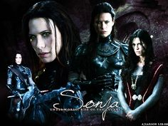 Underworld: Rise of the Lycans - Sonja is the daughter of the vampire elder Viktor, introduced by flashback, in Underworld. The character is heavily featured in Underworld: Rise of the Lycans, and is played by Rhona Mitra.[9] She fell in love with the lycan slave, Lucian, despite knowing her father would disapprove.