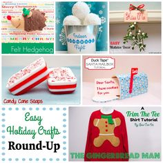 Sew Can Do: Easy Last Minute Holiday Craft Tutorial Round-Up