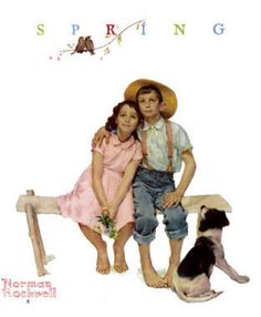 Sweet Serenade by Norman Rockwell