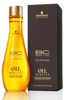 Schwarzkopf Professional BC Bonacure Oil Miracle Finishing Treatment - Perfect for giving shine and infusing nourishment.
