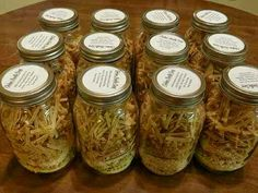 Cooking With My Food Storage: How to Make a Meal-in-a-Jar Two Methods