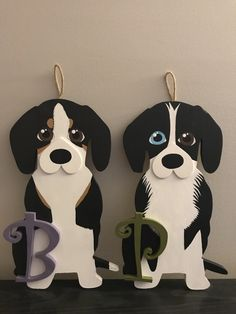 Hand Painted Dogs, DIY