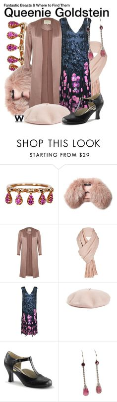 """""""Fantastic Beasts and Where to Find Them"""" by wearwhatyouwatch ❤ liked on Polyvore featuring FerrariFirenze, Steffen Schraut, River Island, Free People, Halogen, Funtasma, wearwhatyouwatch and film"""