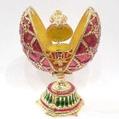 Peter Carl Faberge Eggs | Uova di Pasqua preziose: le creazioni Fabergé
