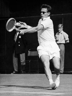 Jaroslav Drobný - 1953 Wimbledon Gentlemen's Singles Quarterfinal.