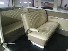 1967 Deluxe Volkswagen is complete. Volkswagen Bus, Vw T1, Bus Interior, Vw Cars, Camper Van, Dream Cars, Samba, Vans, Image