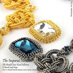eTUTORIAL The Double Coin Knot Imperial Necklace by maneklady