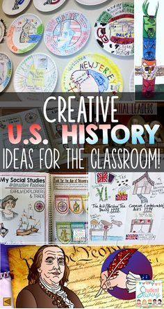 United States History Activities That Your Students Will Lov.-United States History Activities That Your Students Will Love! – Student Savvy Creative US History Lessons and Ideas for Students - Teaching Us History, Teaching American History, American History Lessons, History Education, History Teachers, British History, College Teaching, History Lessons For Kids, Teaching 5th Grade