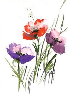 Poppies by gulbin