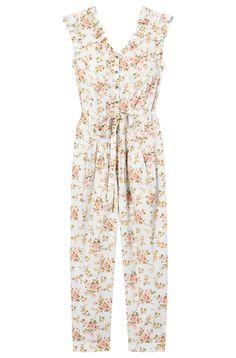 c91394ec3858 La Vie Madeleine Floral Poplin Jumpsuit. Rebecca Taylor