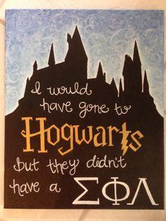 Sigma Phi Lambda- Phi Lamb Hogwarts #PhiLamb