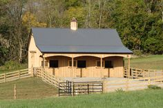 Equestrian | 3 Stall Barn in Clearspring, MD | Quarry View Construction