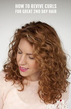 Reader Question: How do I revive my 2nd day curls back to life?
