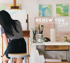 Give your inner artist a chance.