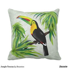 Jungle Toucan Throw