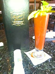 2014 Louisiana Seafood Festival #Seafood #Louisiana #Lifestyle #Holidays/Celebrations   Royal House Oyster Bar serving up  CAJUN BLOODY MARY'S New Or