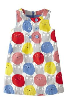 Mini Boden Corduroy Pinafore Dress (Little Girls Big Girls) available at #Nordstrom