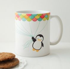 FLY HIGH MUG CUP...he would be the perfect addition to my mug collection ;) $20.00