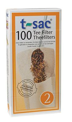 T-Sac Tea Filter Bags, Disposable Tea Infuser, Number 2-Size, 2 to 4-Cup Capacity, Set of 400 T-Sac http://www.amazon.com/dp/B00OPY6WEK/ref=cm_sw_r_pi_dp_Isthvb1QK0BBT