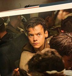 Harry on the set of Dunkirk.