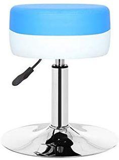 Creative Bar Chair European Style Simple Bar Chair Bar Chair Simple High Stool Can Be Rotated Retro Style GFMING (Color : Blue) European Style, European Fashion, Bar Chairs, Bar Stools, High Stool, Retro Style, Color Blue, Retro Fashion, Canning