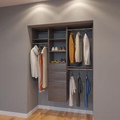 Modular Closets 5 Ft Closet Organizer System 60 Inch Style A