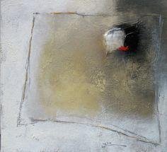 """Franck Duminil - """"Déplacements d'Aube"""", huile sur toile"""