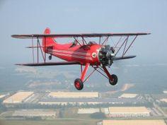 Waco UPF-7 trainer 6