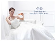 You Can Now Create A Pizza Wedding Registry With Domino's Wedding Night, Wedding Gifts, Online Wedding Registry, Pizza Wedding, Creativity Online, Wedding Website, Engagement Couple, Ever After, One Shoulder Wedding Dress