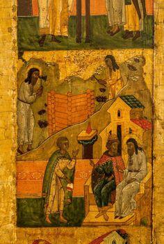 Andrei Rublev, Byzantine Art, 16th Century, Art Boards, Spirituality, Scene, History, Painting, Historia