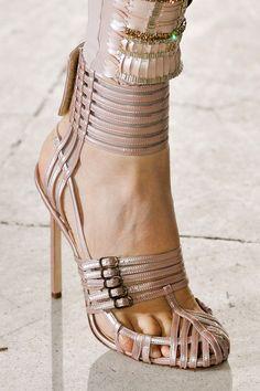 Antonio Berardi SS 2012 shoe detail  www.2cloudsinthesky.blogspot.com