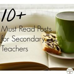 A great and varied compilation of posts for secondary teachers from all content areas!