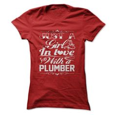 In love with Plumber - #tshirt makeover #dressy sweatshirt. THE BEST => https://www.sunfrog.com/LifeStyle/In-love-with-Plumber.html?68278
