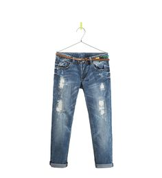 RIPPED JEANS - Jeans - Girl (2 - 14 years) - Kids | ZARA United States